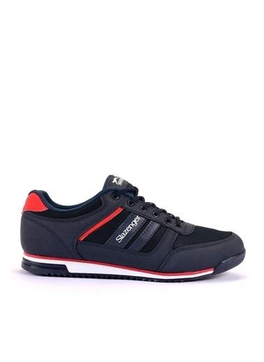 Slazenger Erkek ACTIVE Sneakers SA10LE021-400 Lacivert